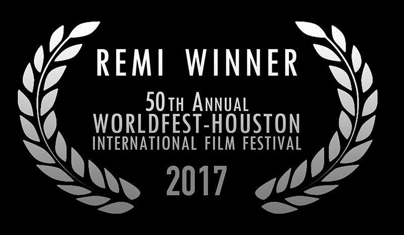 World Fest 50th -2017-REMI WINNER - LAURELS --wht-blkbg